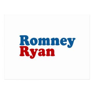 ROMNEY RYAN SIMPLE POSTCARD