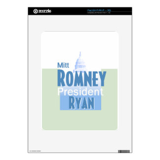 Romney Ryan Skin Para El iPad
