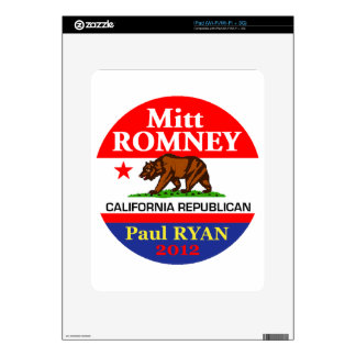 Romney Ryan Skins For iPad