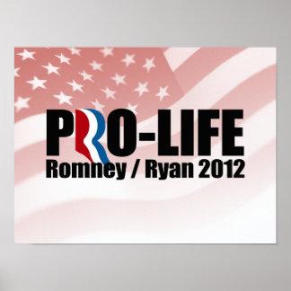 ROMNEY RYAN SON PRO-LIFE.png Póster