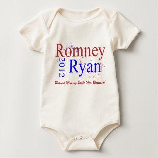 Romney/Ryan Star Wave Baby Bodysuit