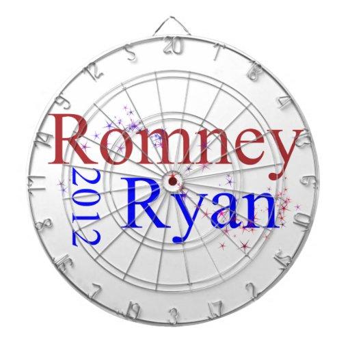 Romney/Ryan Star Wave Dart Boards