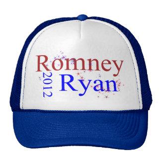Romney Ryan Star Wave Mesh Hat