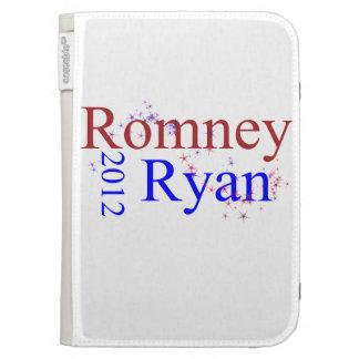 Romney/Ryan Star Wave Kindle Case