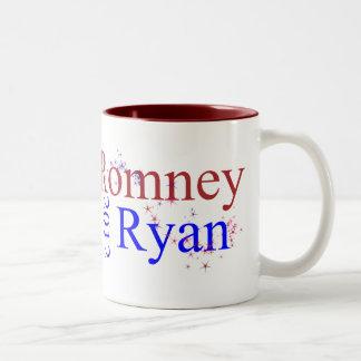 Romney/Ryan Star Wave Coffee Mugs