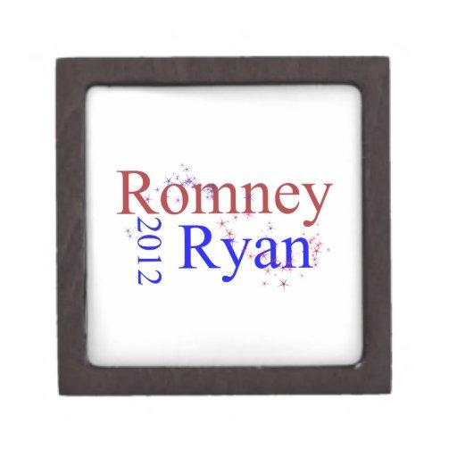 Romney/Ryan Star Wave Premium Jewelry Boxes