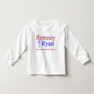 Romney/Ryan Star Wave Toddler T-shirt