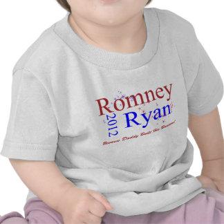 Romney/Ryan Star Wave T Shirts