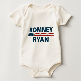 Romney Ryan Stars and Stripes Baby Bodysuit