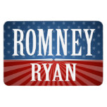 Romney Ryan - Stars and Stripes Flexible Magnets