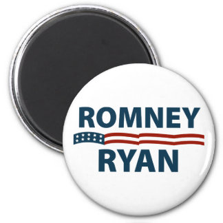 Romney Ryan Stars and Stripes Magnet