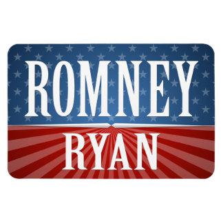 Romney Ryan - Stars and Stripes Rectangular Photo Magnet