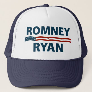 Romney Ryan Stars and Stripes Trucker Hat