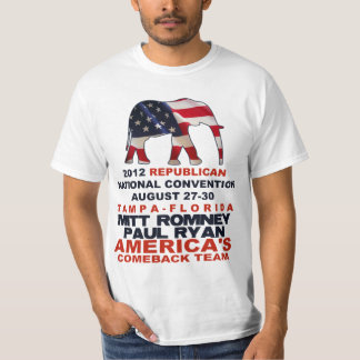 Romney Ryan Tampa GOP Convention T-Shirt