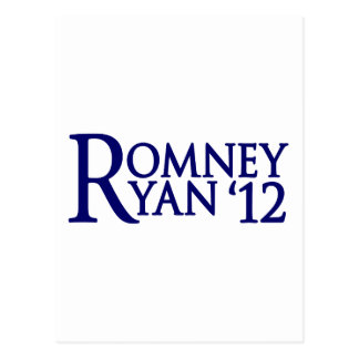 Romney Ryan Tarjeta Postal