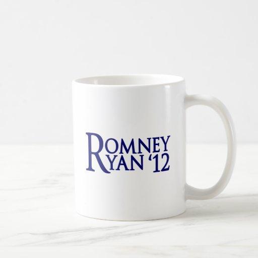 Romney Ryan Taza Básica Blanca