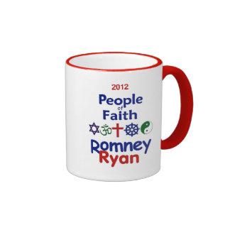 Romney Ryan Taza De Dos Colores