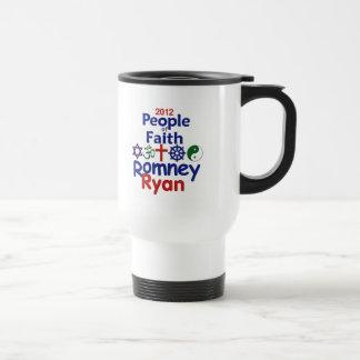 Romney Ryan Taza De Viaje