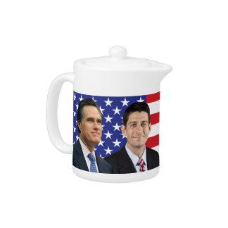 Romney Ryan Teapot