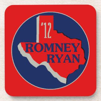 Romney Ryan TEJAS Posavasos De Bebidas