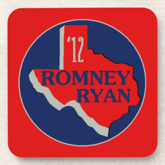Romney Ryan TEXAS Coaster
