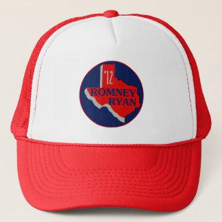 Romney Ryan TEXAS Trucker Hat