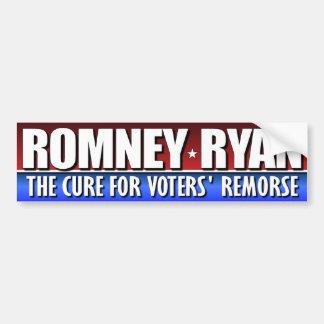 Romney Ryan - The Cure Car Bumper Sticker