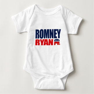 ROMNEY RYAN TICKET 2012.png Baby Bodysuit