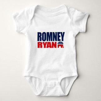 ROMNEY RYAN TICKET 2012.png Baby Bodysuit