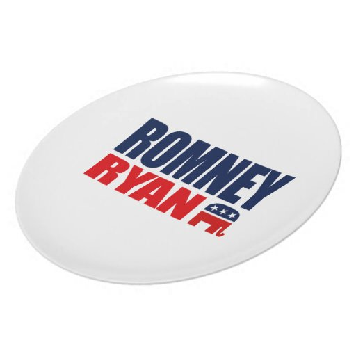 ROMNEY RYAN TICKET 2012.png Dinner Plate