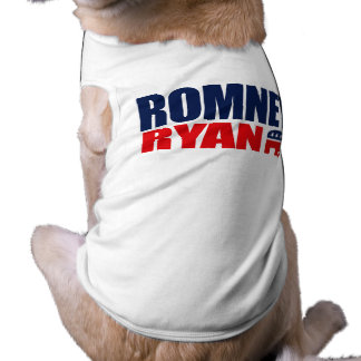 ROMNEY RYAN TICKET 2012.png Pet T-shirt