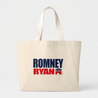 ROMNEY RYAN TICKET 2012.png Jumbo Tote Bag