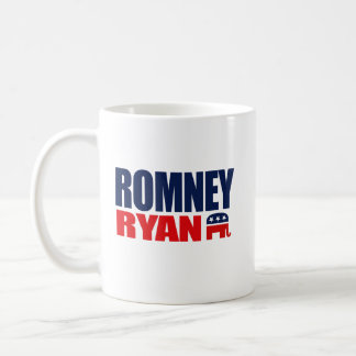 ROMNEY RYAN TICKET 2012.png Classic White Coffee Mug