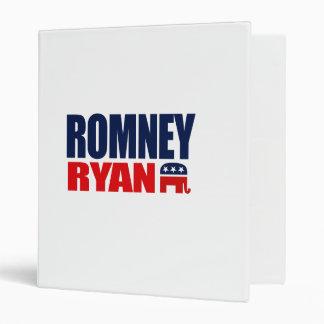 ROMNEY RYAN TICKET 2012.png Vinyl Binders