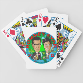 Romney Ryan USA Bicycle Playing Cards