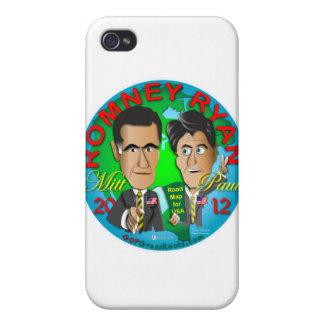Romney Ryan USA iPhone 4 Case