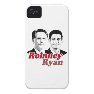 ROMNEY RYAN VERSUS RED.png iPhone 4 Case-Mate Case