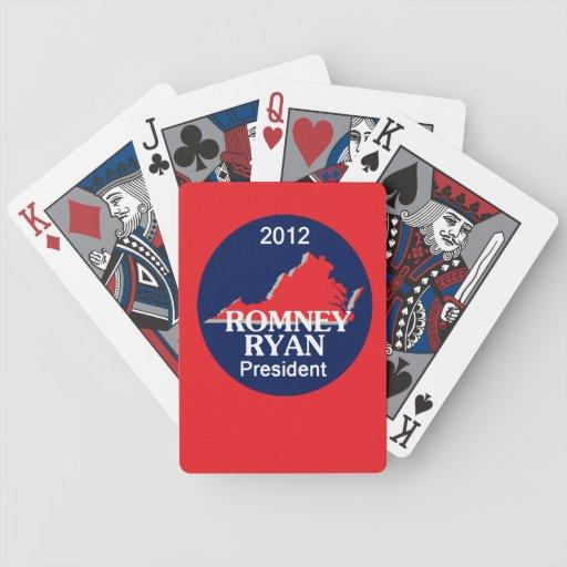 Romney Ryan VIRGINIA Barajas De Cartas