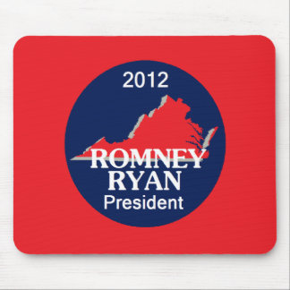 Romney Ryan VIRGINIA Mouse Pad