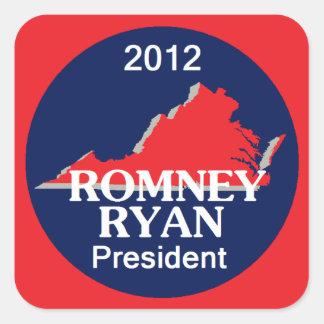 Romney Ryan VIRGINIA Stickers