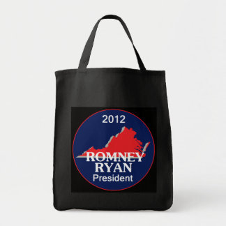 Romney Ryan VIRGINIA Tote Bag