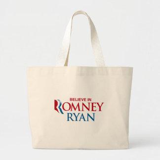 ROMNEY RYAN VP BELIEVE png Bags