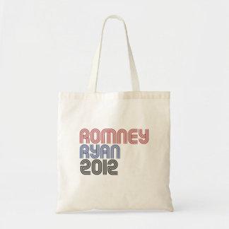 ROMNEY RYAN VP DISCO png Canvas Bags