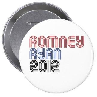 ROMNEY RYAN VP DISCO.png Pin Redondo 10 Cm