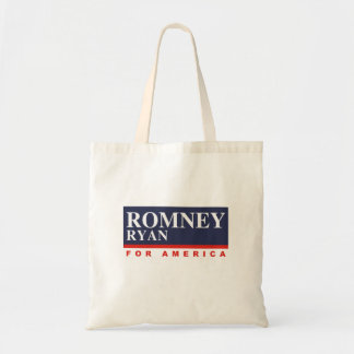 ROMNEY RYAN VP FOR AMERICA png Tote Bags
