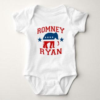 ROMNEY RYAN VP GOP MASCOT.png Baby Bodysuit