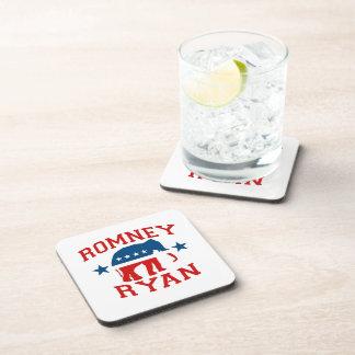 ROMNEY RYAN VP GOP MASCOT.png Beverage Coasters