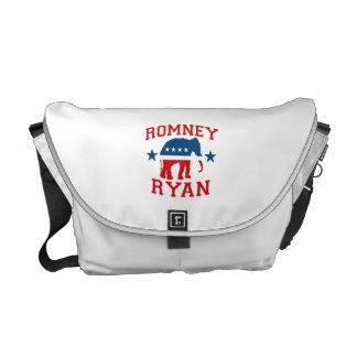 ROMNEY RYAN VP GOP MASCOT png Courier Bag