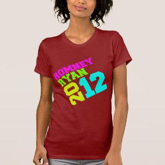 ROMNEY RYAN VP NEON COLLEGIATE.png T-shirt