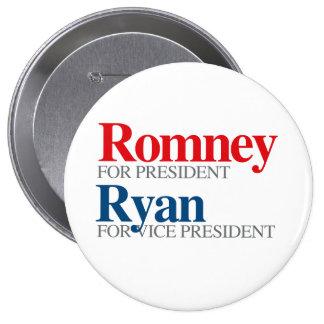ROMNEY RYAN VP PICK.png 4 Inch Round Button